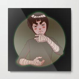 Rock Lee Drunken Fist v.1 Metal Print