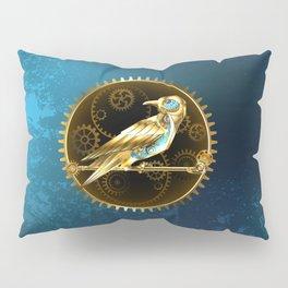 Mechanical Bird ( Steampunk ) Pillow Sham