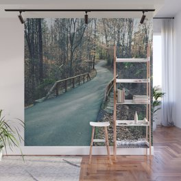 Path in the Woods Wall Mural