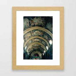 Heavenly Mural Framed Art Print