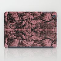 rorschach iPad Cases featuring Mystical Rorschach  by Art by Mel