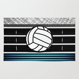 volley ball art Rug