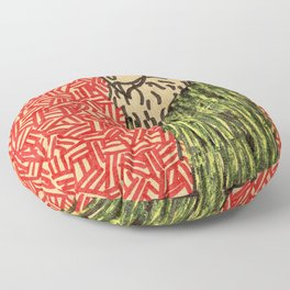 Untitled Work Material Piece Floor Pillow