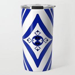 Four Square - White Center Travel Mug