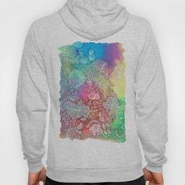 Water colors 2 - Rainbow corals Hoody