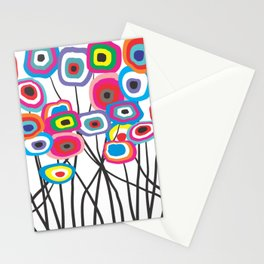 Whimsical Flowers ll Stationery Cards