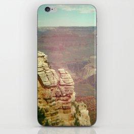 Tiny Man at the Grand Canyon iPhone Skin