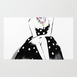 Polka Dot Dress Rug