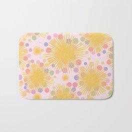 Sunshine Dandelion Explosion (Rainbow) Bath Mat