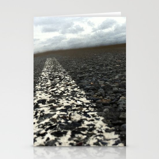 dirt roads Stationery Cards
