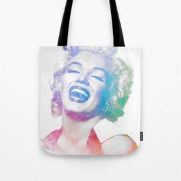 Colorful Marilyn  Tote Bag