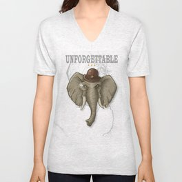 UNFORGETTABLE Unisex V-Neck