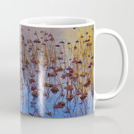 Dead Lotus Flower Coffee Mug