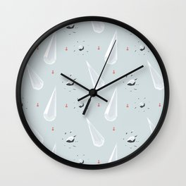 Crystal ornament Wall Clock
