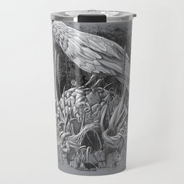 White Raven Travel Mug
