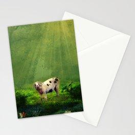 piggy Stationery Cards