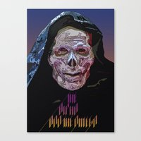skeletor Canvas Prints featuring SKELETOR  by TidyDesigns