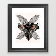 Carry Me Remix Framed Art Print