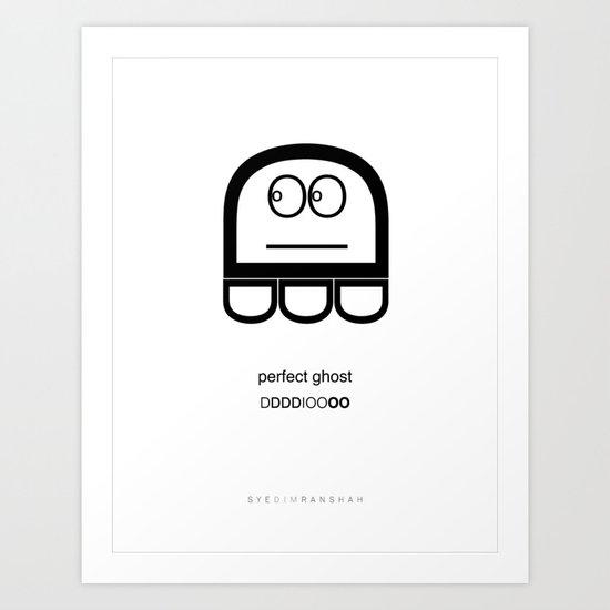 Helvetighost Art Print