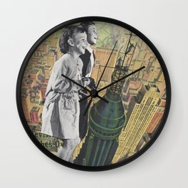 Top Of The World, Ma! Wall Clock