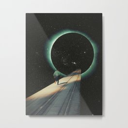 Escaping into the Void Metal Print