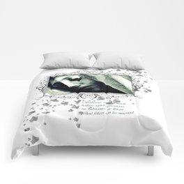 virgin veil of cobwebs Comforters