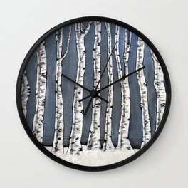 White book Wall Clock