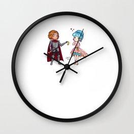 Valentine Tiara Wall Clock