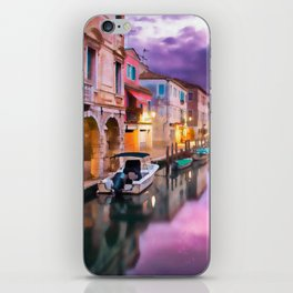 Canals of Venice iPhone Skin