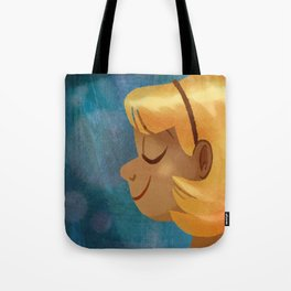 Sun On Her Face Tote Bag