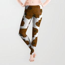 Poop & Flies Leggings
