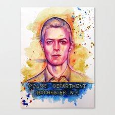 Mr. Jones Canvas Print