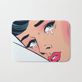 These Tears Aren't For You Bath Mat