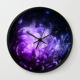 Breakthrough Wall Clock