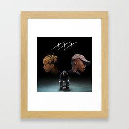 Triple X Dual Self Framed Art Print