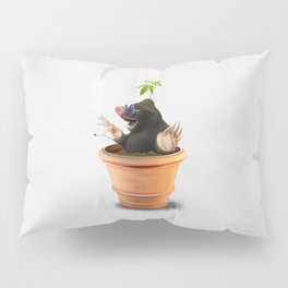 Pot (Wordless) Pillow Sham