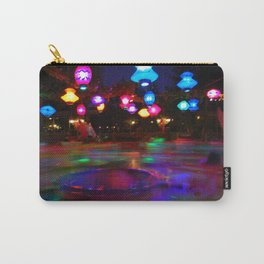 Teacups Blur at Night Carry-All Pouch