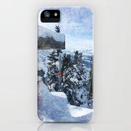 Whistler Inukshuk iPhone Case