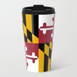 Maryland State Flag, Hi Def image Travel Mug