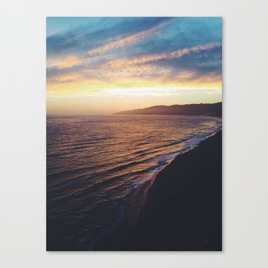 Point Dume Sunset Canvas Print