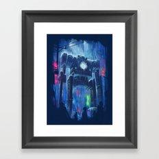 Impressionist Robot Framed Art Print