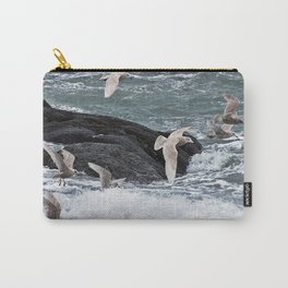 Gulls shop for Dinner Carry-All Pouch