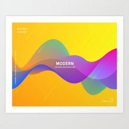 modern text Art Print