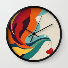 Love Message Wall Clock