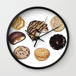 Girl Scout Cookies Wall Clock