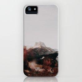 Grand Séru /// Mont Thabor iPhone Case