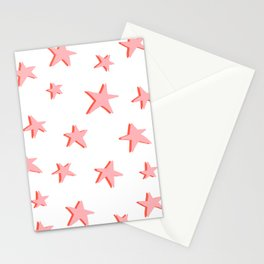 Stars Double Stationery Cards