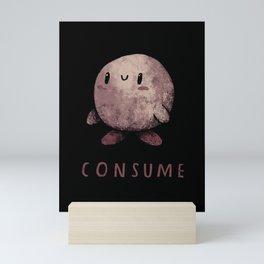 consume Mini Art Print