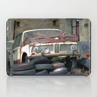 bmw iPad Cases featuring Old BMW Wreck by Premium