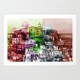 City of Angels in Sicily Art Print